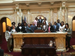 Picture in Senate Chamber